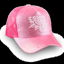 gorra cosmic rosado femenino