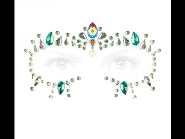 Sticker Cosmic Cristal turquesa